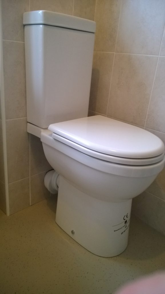 Disabled toilet fitted in a disabled bathroom in fife ...