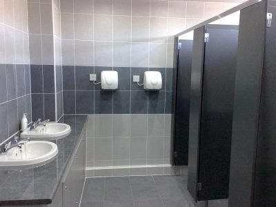 Bathroom installation process