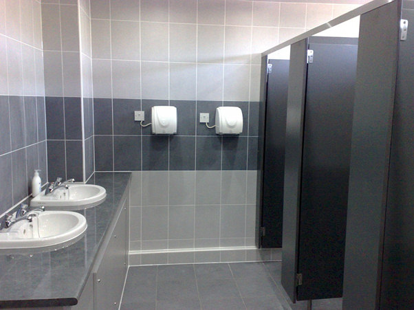 Commercial Bathroom Installation by New Age Fife